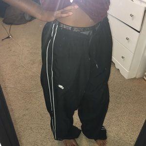 Black and White Nike Sweats